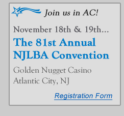 2014 NJLBA Convention